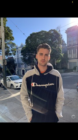 San Francisco California Male Model